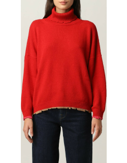 Jumper SEMICOUTURE Women colour Red