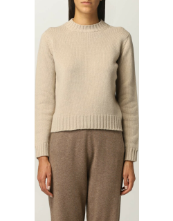Max Mara basic jumper in wool and cashmere
