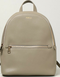 Furla rucksack in grained leather