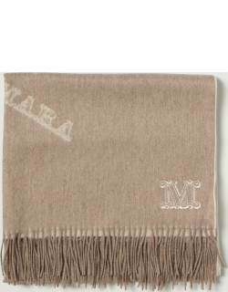 Max Mara scarf with all over logo
