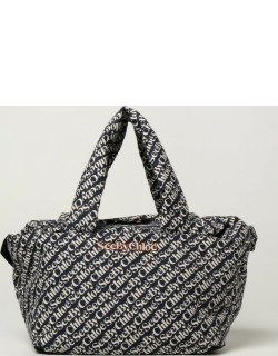 Tilly See By Chloé bag in logoed fabric