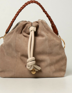 Cleme See By Chloé bag in leather and suede
