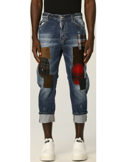Dsquared2 denim jeans with patches