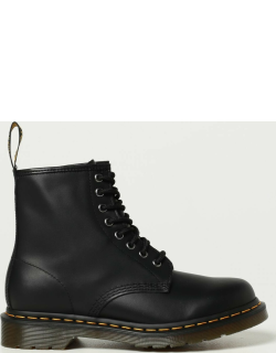 Dr. Martens combat boots in leather