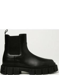 Fendi ankle boots in brushed leather