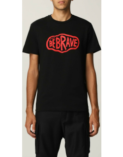 Diesel cotton tshirt with Be Brave print