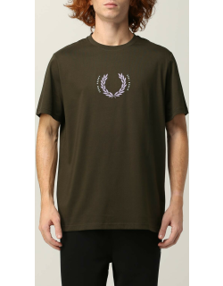T-Shirt FRED PERRY Men colour Green