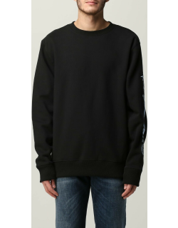 Stussy crewneck jumper with writing and embroidery