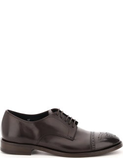 HENDERSON DERBY BROGUE LACE-UPS 45 Brown Leather