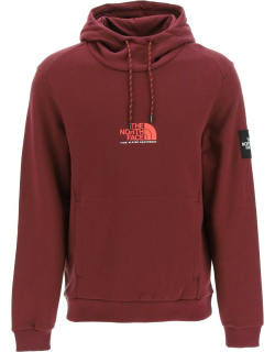 THE NORTH FACE FINE ALPINE HOODIE S Red Cotton