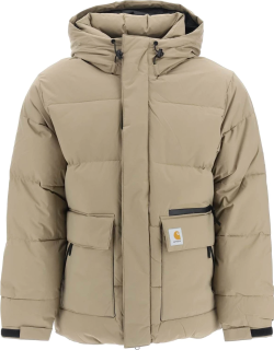 CARHARTT MUNRO PADDED JACKET S Brown Technical