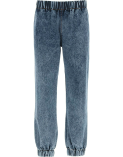 LIBERAL YOUTH MINISTRY DENIM JOGGER PANTS M Blue Cotton