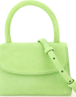 BY FAR SUEDE LEATHER MINI BAG OS Green Leather
