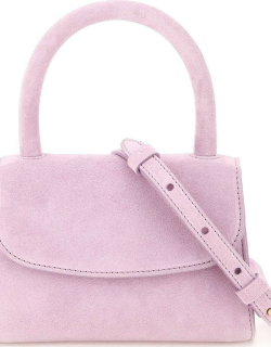 BY FAR SUEDE LEATHER MINI BAG OS Purple Leather