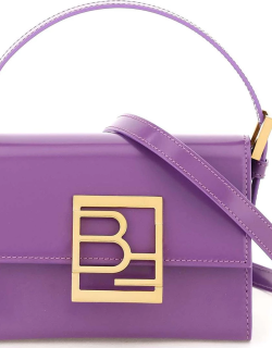 BY FAR SEMI PATENT LEATHER FRAN BAG OS Purple Leather