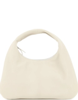THE ROW EVERYDAY SMALL LEATHER HOBO BAG OS White Leather