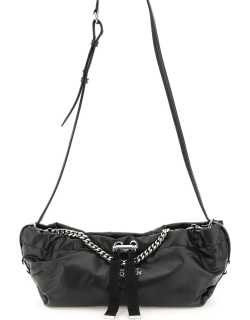 ALEXANDER MCQUEEN THE BUNDLE MINI LEATHER BAG OS Black Leather