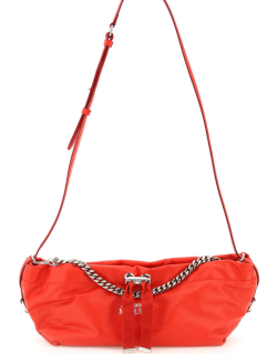 ALEXANDER MCQUEEN THE BUNDLE MINI LEATHER BAG OS Red Leather