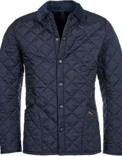 Barbour Heritage Liddesdale Quilted Jacket - Navy NY92