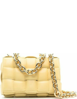 Yellow The Chain Cassette bag