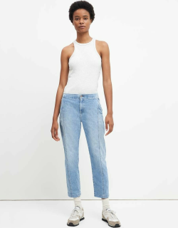 7 For All Mankind Womens Slim Jogger in Bright Blue Jay