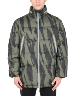 kenzo quilted down printed jacket