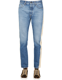palm angels jeans with side band