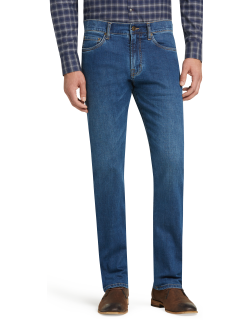 JoS. A. Bank Men's Reserve Collection Traditional Fit Jeans, Seaview, 38x29