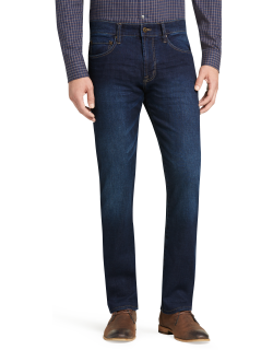 JoS. A. Bank Men's Reserve Collection Traditional Fit Jeans, Mosaic, 38x29
