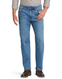 JoS. A. Bank Men's Reserve Collection Relaxed Fit Jeans, Rivera, 42x30