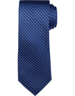 JoS. A. Bank Men's Reserve Collection Woven Stripe Tie, Blue, One
