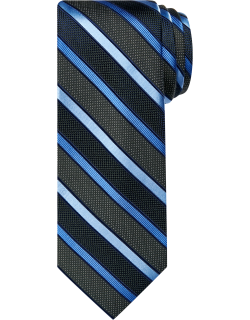 JoS. A. Bank Men's Reserve Collection Dot & Stripes Tie, Dark Green, One