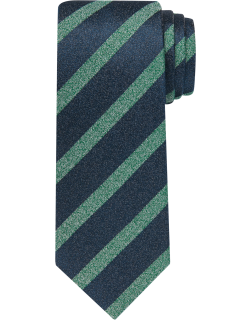 JoS. A. Bank Men's Reserve Collection Stripe Tie, Green, One