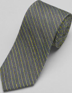 JoS. A. Bank Men's 1905 Collection Stitched Stripe Tie, Yellow, One