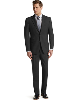 JoS. A. Bank Men's Executive Collection Traditional Fit Suit, Charcoal, 44 Short