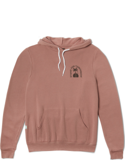TOMS Pink Venice Arches Pulloverhoodie