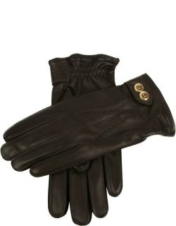 Dents Men's Cashmere Lined Hairsheep Leather Gloves In Brown