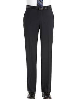 Joseph Abboud Men's Navy Modern Fit Suit Separates Dress Pants