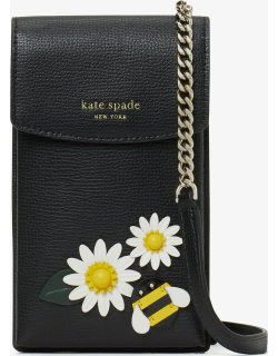 Bee Spencer North South Phone Crossbody - Black - One