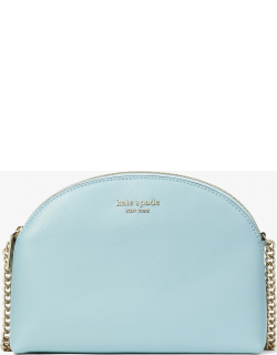 Spencer Double-Zip Dome Crossbody - Teacup Blue - One