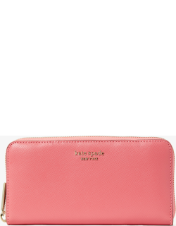 Spencer Zip-Around Continental Wallet - Orchid - One