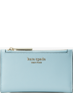 Spencer Small Slim Bifold Wallet - Teacup Blue - One