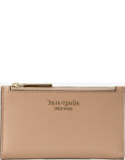 Spencer Small Slim Bifold Wallet - Raw Pecan - One