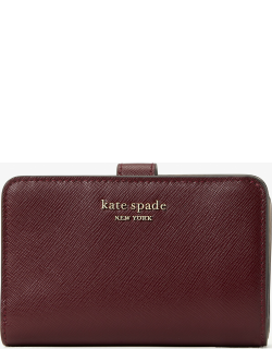 Spencer Compact Wallet - Grenache - One