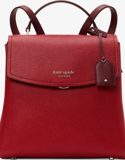 Thompson Colorblocked Medium Backpack - Red Currant Multi - One