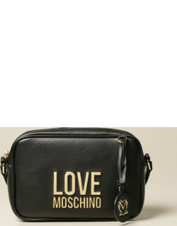 Love Moschino shoulder bag in synthetic leather with logo