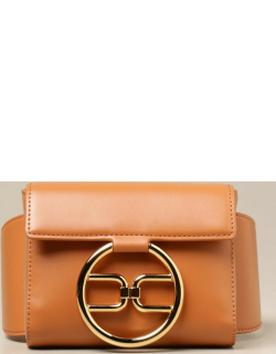 Elisabetta Franchi belt bag in synthetic leather with logo