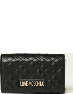 Love Moschino shoulder bag in quilted synthetic nappa leather