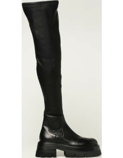 Leonidas Versace cuissard boots in leather