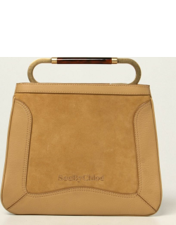 Ella See By Chloé bag in grained leather and suede